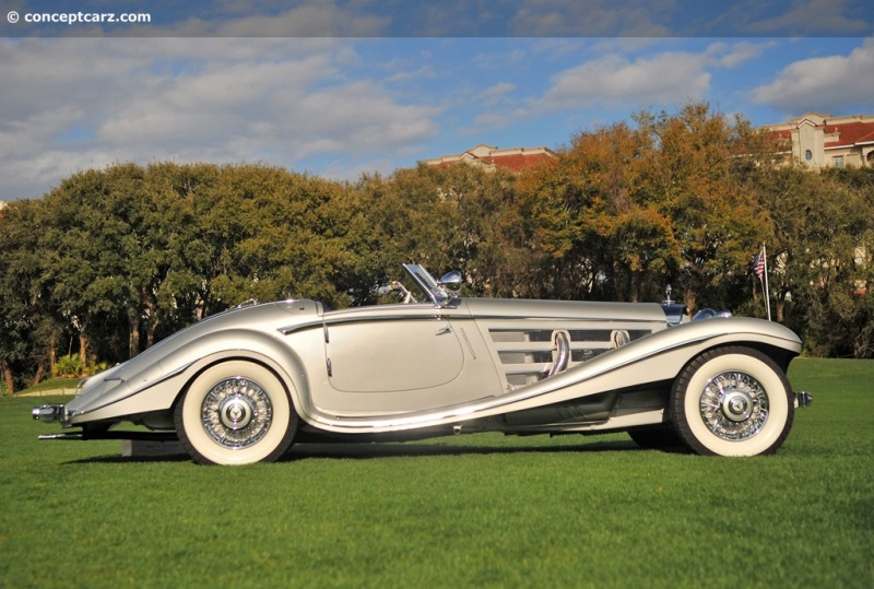 Mercedes-Benz 540K pictures and wallpaper