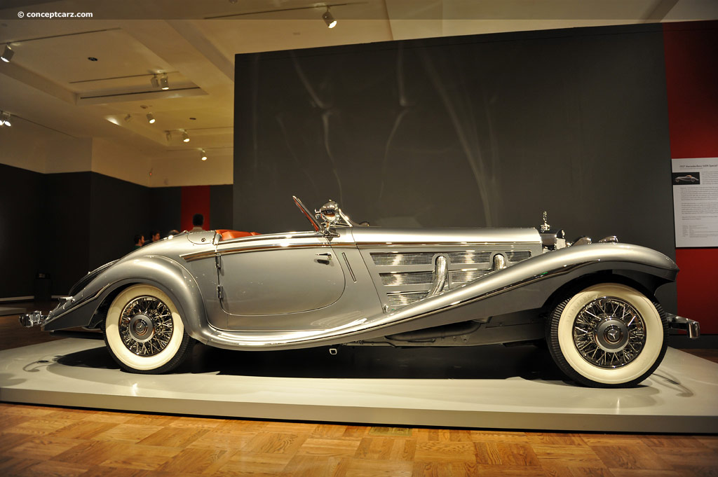 Auction Results and Sales Data for 1937 Mercedes-Benz 540K