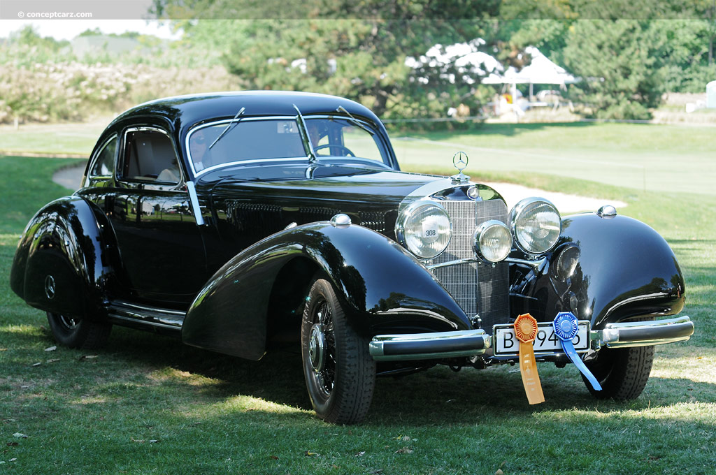 1939 mercedes benz 540k at the concours d 39 elegance of for Mercedes benz autobahn