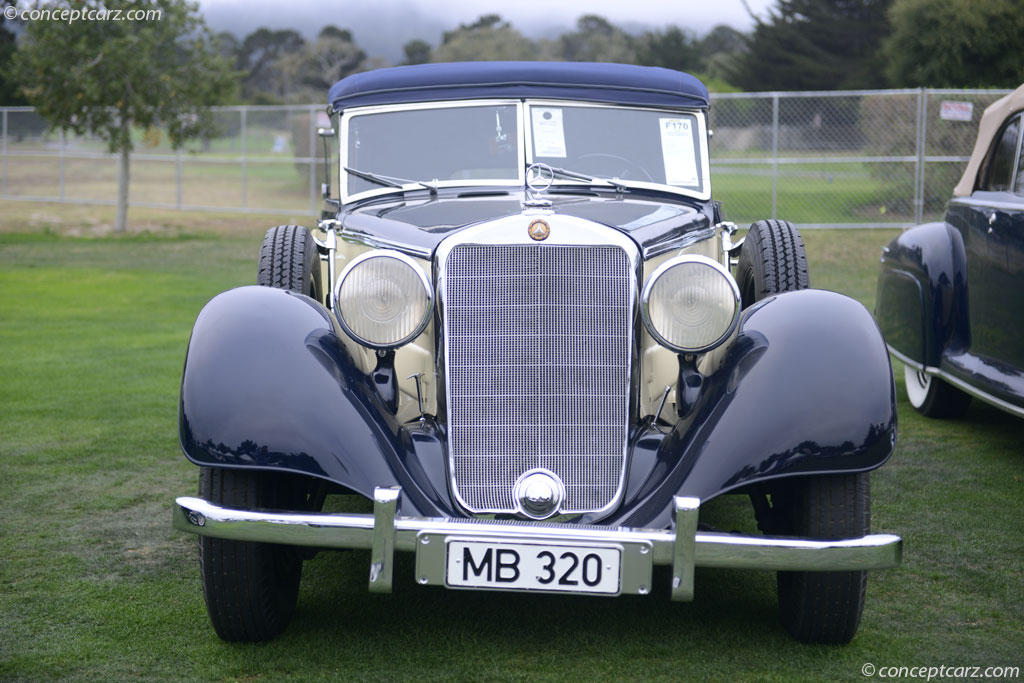1938 Mercedes-Benz Type 320