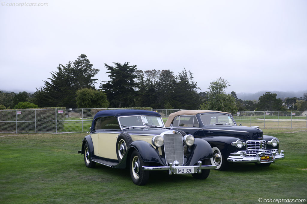 Auction results and sales data for 1938 mercedes benz type for Mercedes benz 320 price