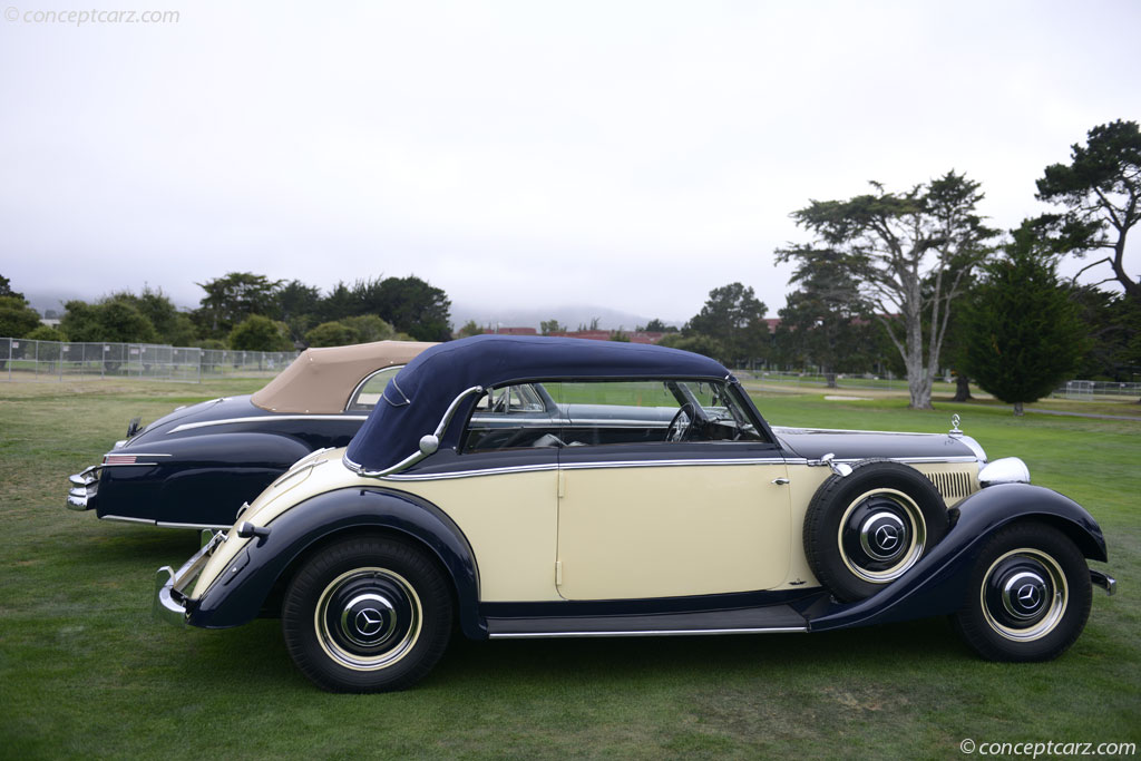 Auction results and sales data for 1938 mercedes benz type 320 for Mercedes benz average price