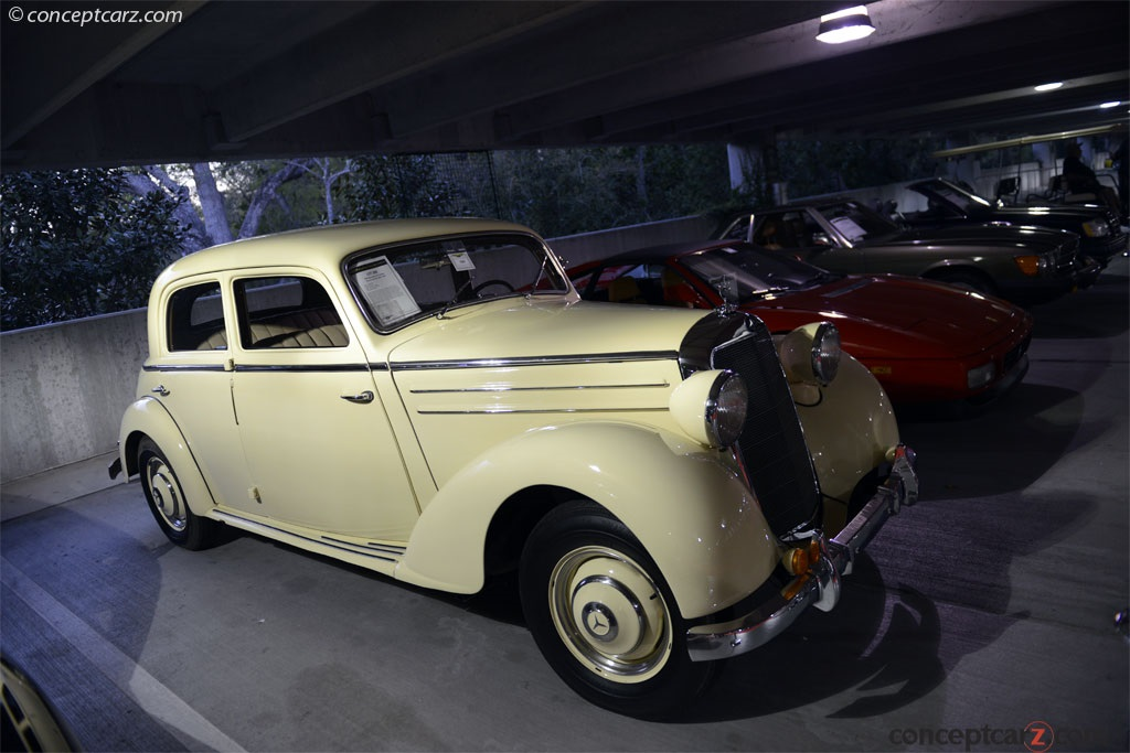 Auction results and sales data for 1949 mercedes benz for 1949 mercedes benz