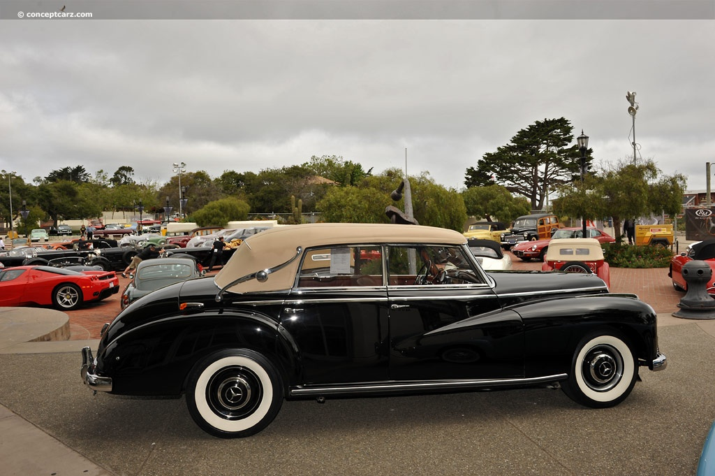 auction results and sales data for 1952 mercedes benz 300. Black Bedroom Furniture Sets. Home Design Ideas
