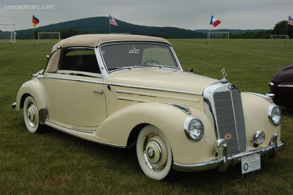 Auction results and sales data for 1952 mercedes benz 220 for 1952 mercedes benz