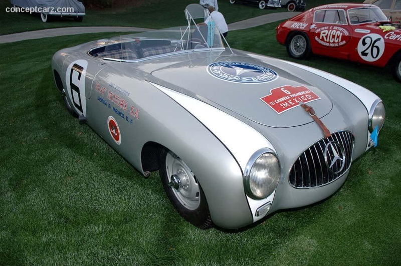 1952 mercedes benz 300 sl w194 image chassis number 194 06 for Mercedes benz 800 number