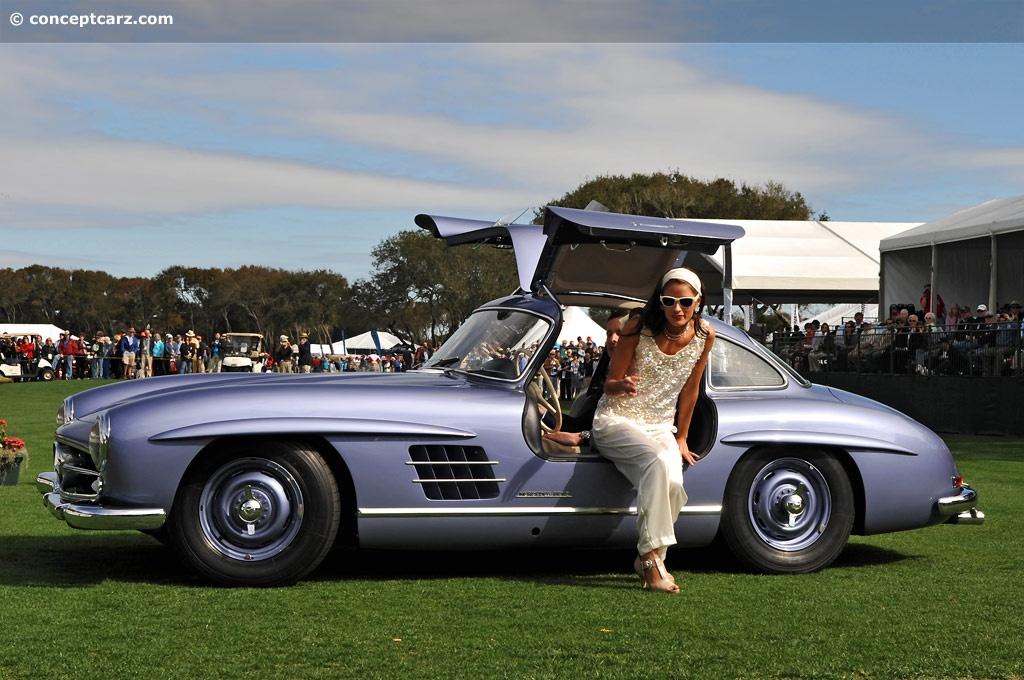 Benz Concept Car >> 1955 Mercedes-Benz 300 SL Gullwing Image. Chassis number ...