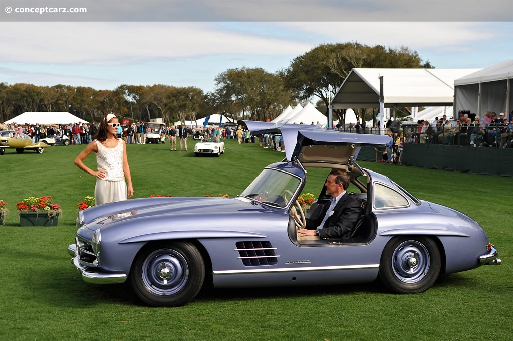 1955 mercedes benz 300 sl gullwing at the amelia island concours d 39 elegance. Black Bedroom Furniture Sets. Home Design Ideas