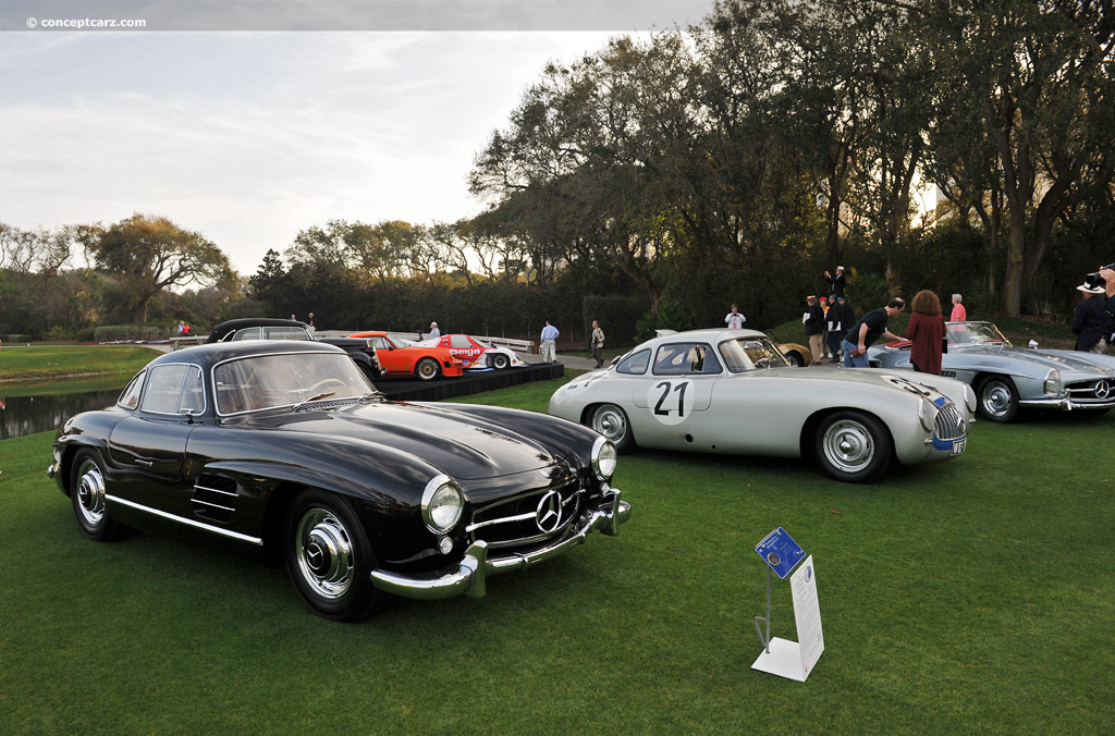 1956 mercedes benz 300 sl at the 17th annual amelia island for 1956 mercedes benz