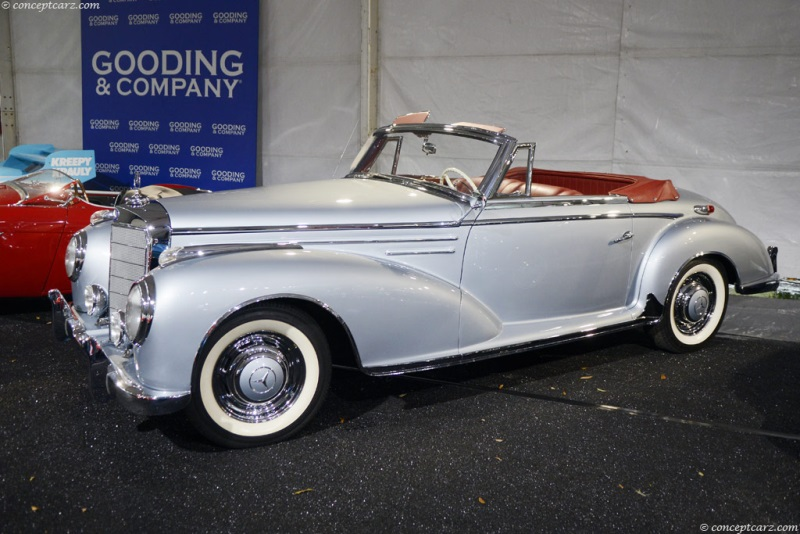 1955 mercedes benz 300sc pictures history value for Mercedes benz worldwide sales figures
