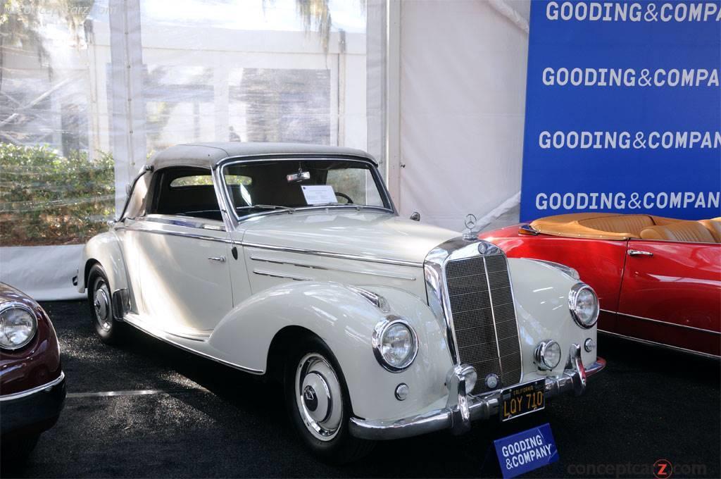 1955 Mercedes-Benz 220a Series