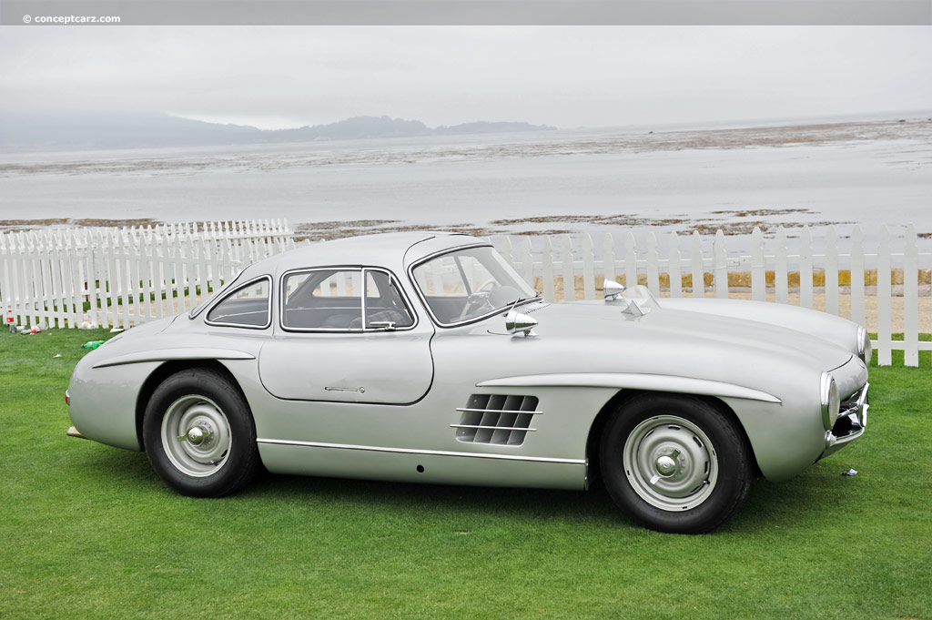 Auction results and sales data for 1955 mercedes benz 300 for Mercedes benz gullwing 1955