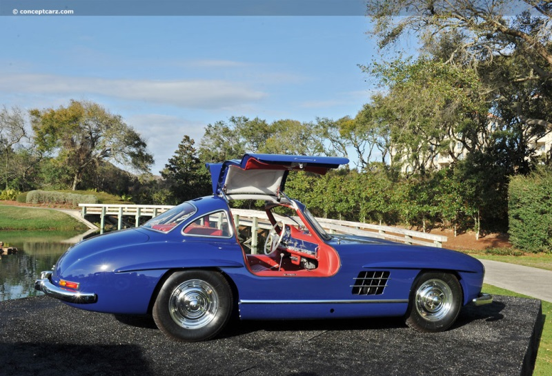 1955 Mercedes Benz 300 Sl Gullwing Image Photo 133 Of 300