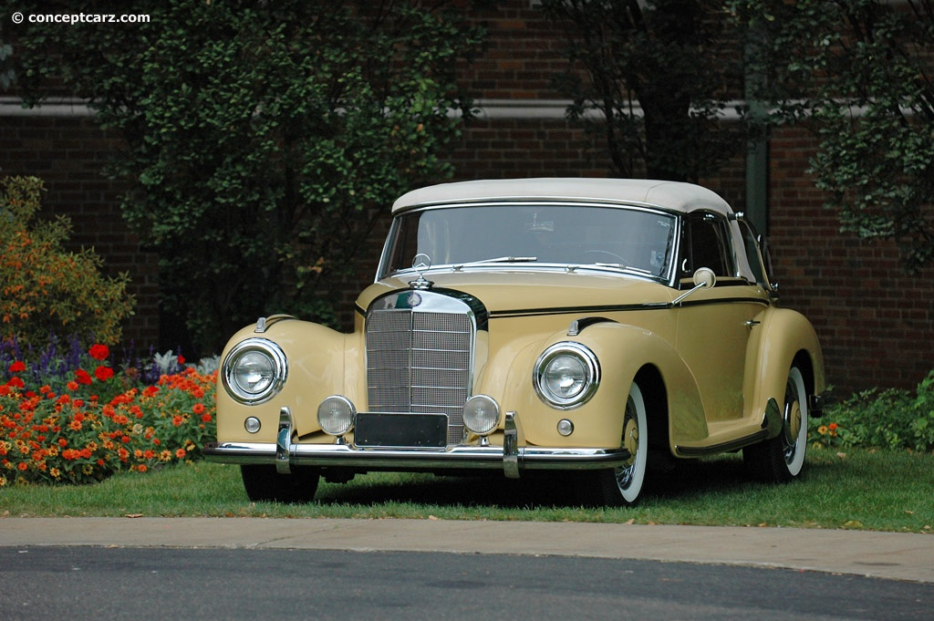 Auction results and sales data for 1955 mercedes benz 300 s for Mercedes benz 300 s