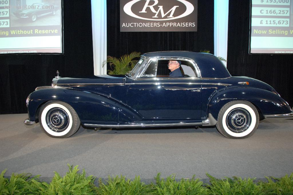 Auction results and sales data for 1955 mercedes benz 300 for Sb mercedes benz