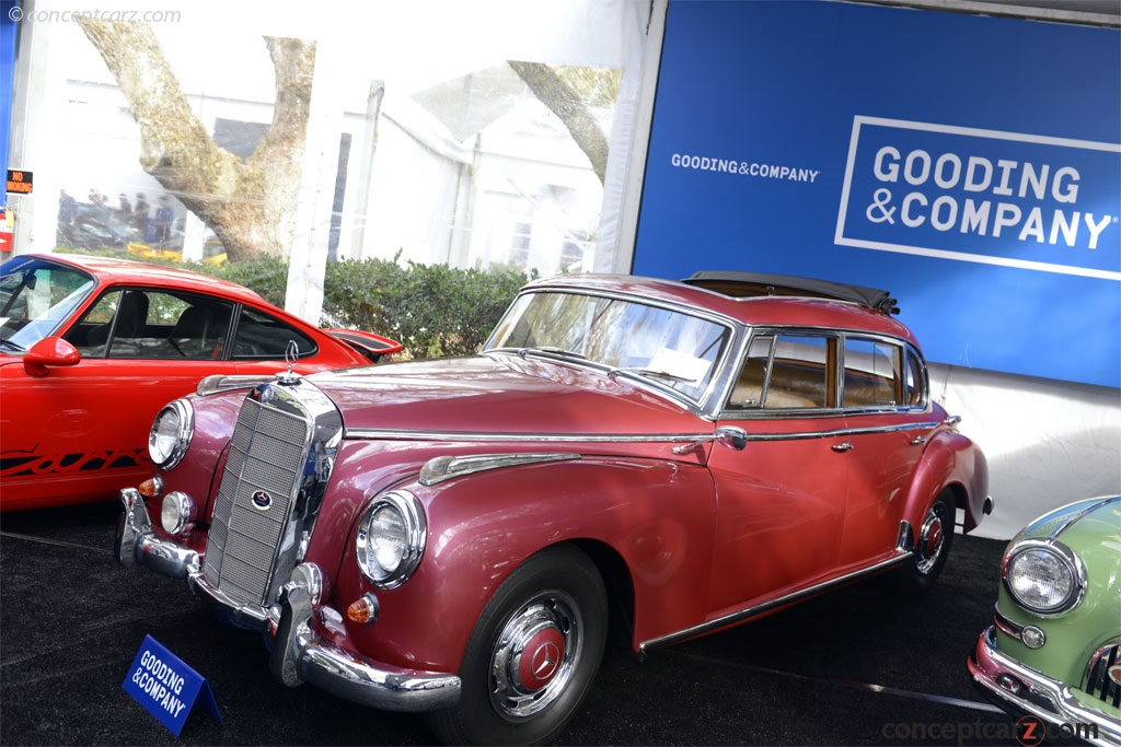 Auction results and sales data for 1956 mercedes benz 300c for Mercedes benz 300c