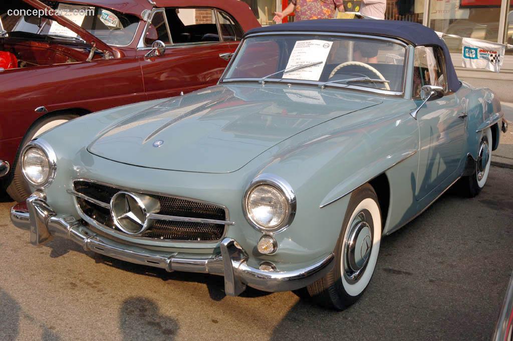 1957 mercedes benz 190 sl image for Mercedes benz car salesman salary