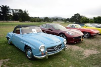 1957 Mercedes-Benz 190 SL.  Chassis number 7500731