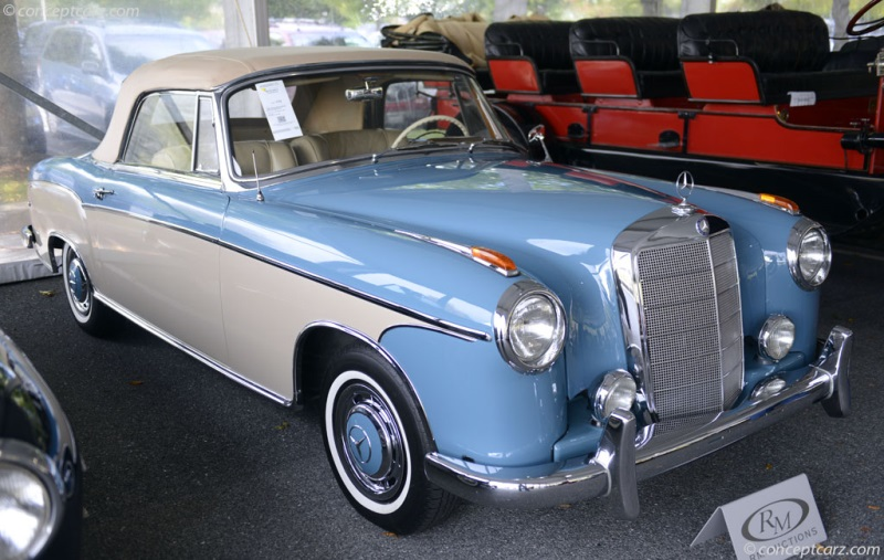 1958 mercedes benz 220s image chassis number for 1958 mercedes benz 220s for sale