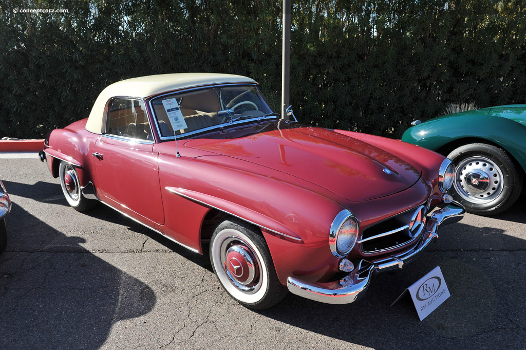 Auction Results And Sales Data For 1958 Mercedes Benz 190 Sl