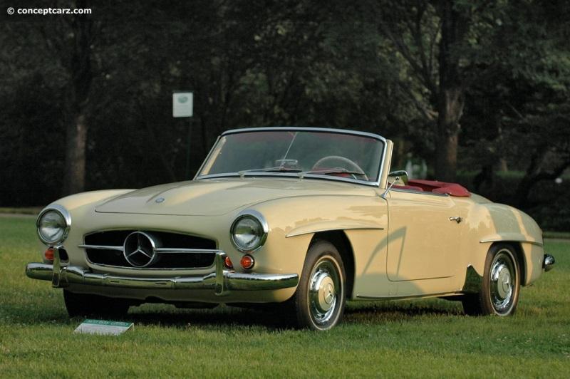 1959 Mercedes Benz 190 Sl Conceptcarz Com