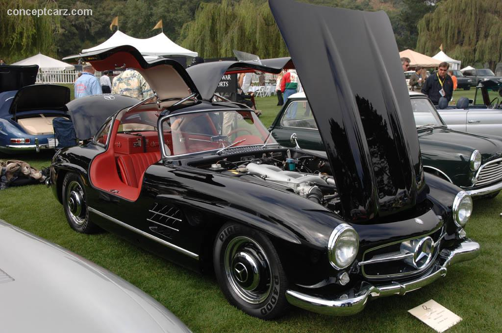 1959 mercedes benz 300 sl gullwing history pictures. Black Bedroom Furniture Sets. Home Design Ideas