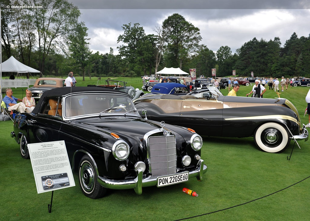 1960 Mercedes Benz 220 Series At The Concours D 39 Elegance