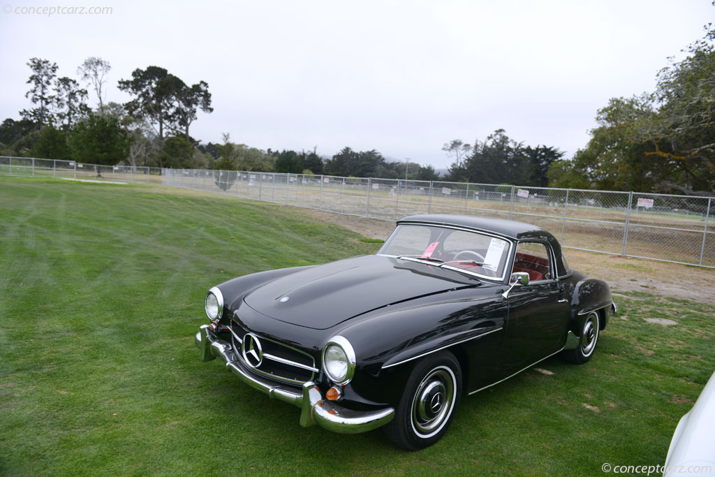 auction results and sales data for 1961 mercedes benz 190 sl. Black Bedroom Furniture Sets. Home Design Ideas