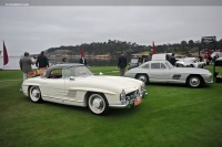 1963 Mercedes-Benz 300 SL.  Chassis number 198.042.10.003254