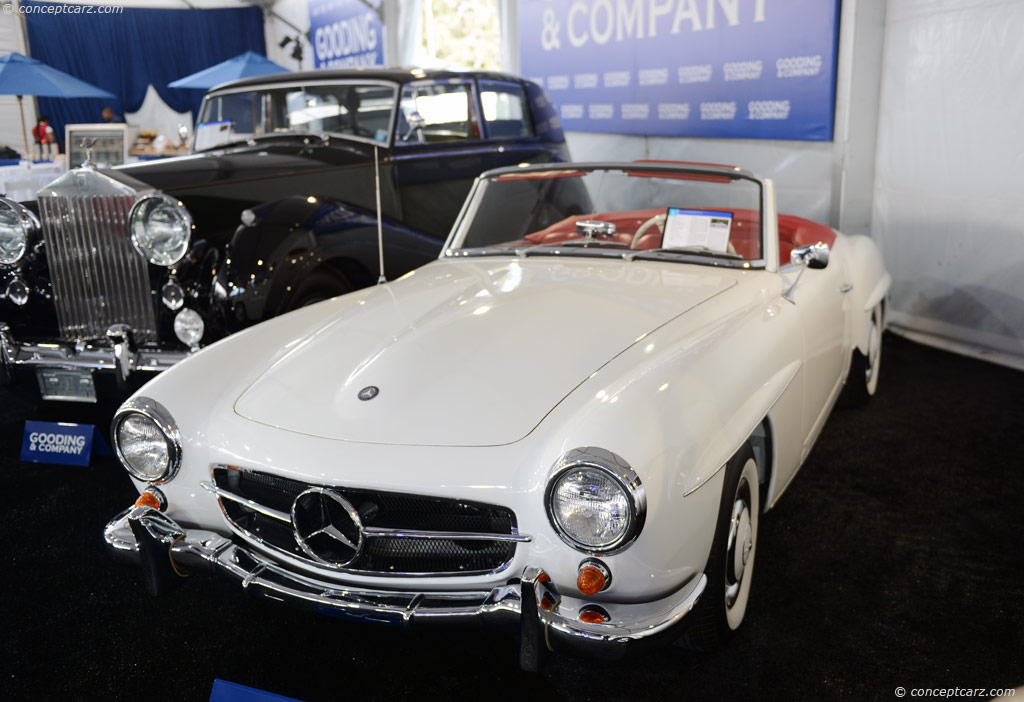 Auction results and sales data for 1963 mercedes benz 190 sl for Mercedes benz 190 sl for sale