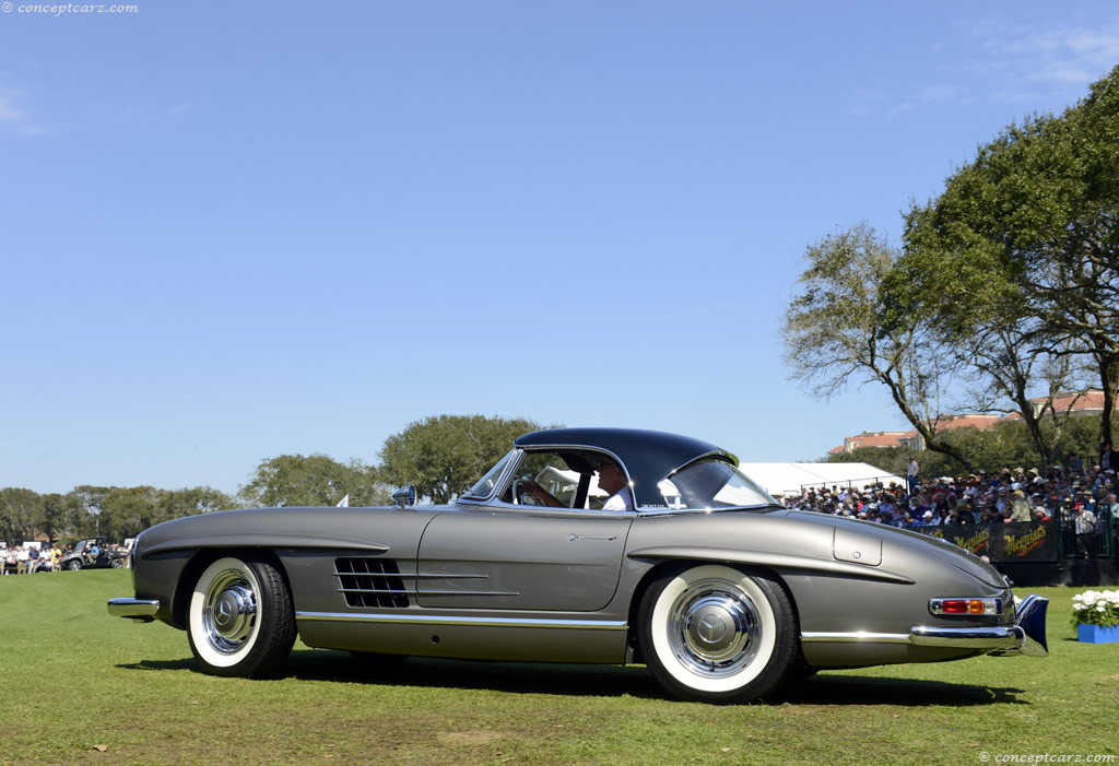 1963 Mercedes Benz 300 Sl At The Amelia Island Concours D