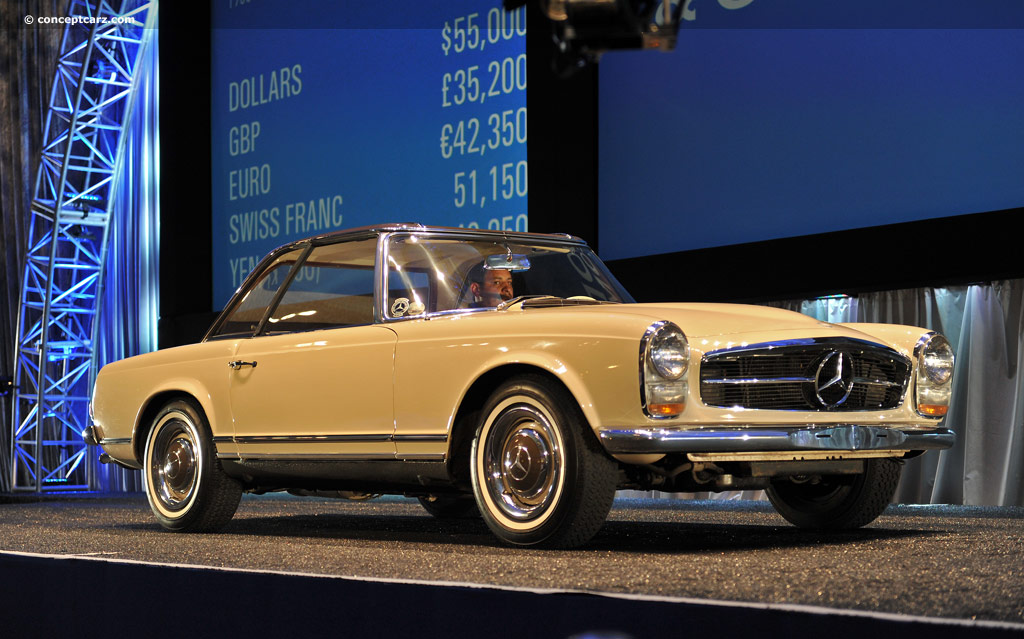 Auction Results And Data For 1966 Mercedes Benz 230 Sl