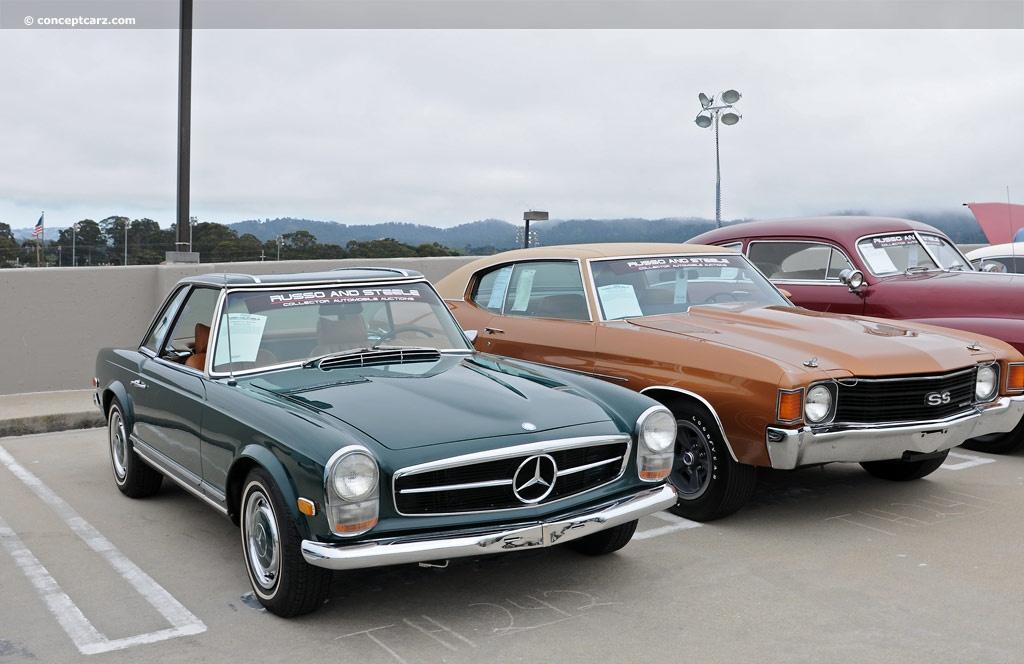 1969 mercedes benz 280 sl image for Mercedes benz sl280 for sale