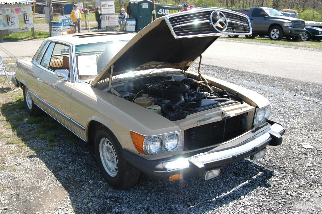 1974 mercedes benz 450 slc pictures history value for Mercedes benz 450
