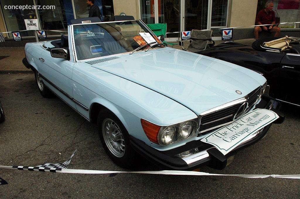 Auction Results and Sales Data for 1976 Mercedes-Benz 450 SL