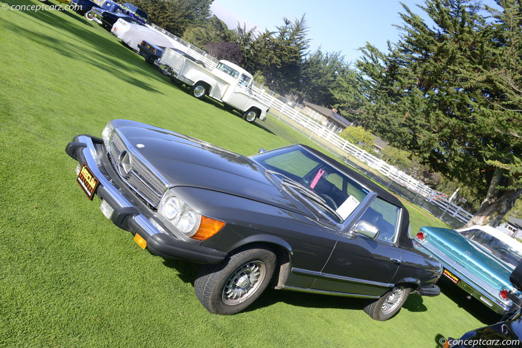 1980 Mercedes-Benz 450SL technical and mechanical specifications