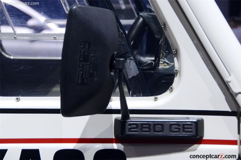 1983 Mercedes-Benz 280 GE Rally
