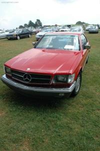 1983 Mercedes-Benz 380 SEC image.