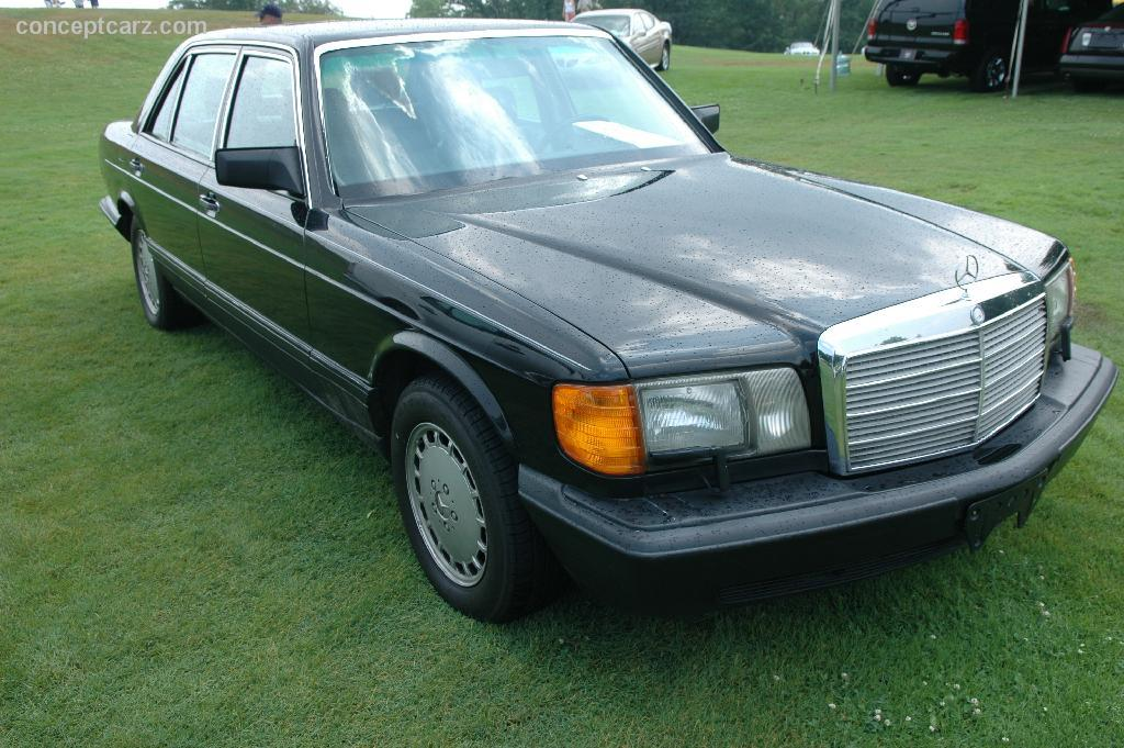 1989 mercedes benz 420 sel pictures history value for Mercedes benz recall list
