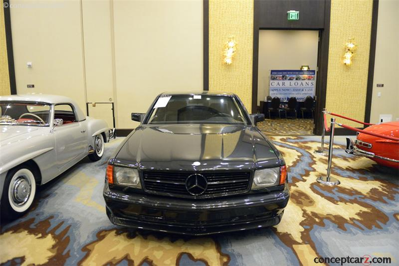 1990 Mercedes-Benz 560 Series chassis information