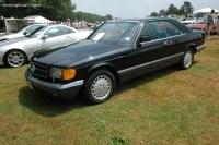 1991 Mercedes-Benz 560 SEC image.