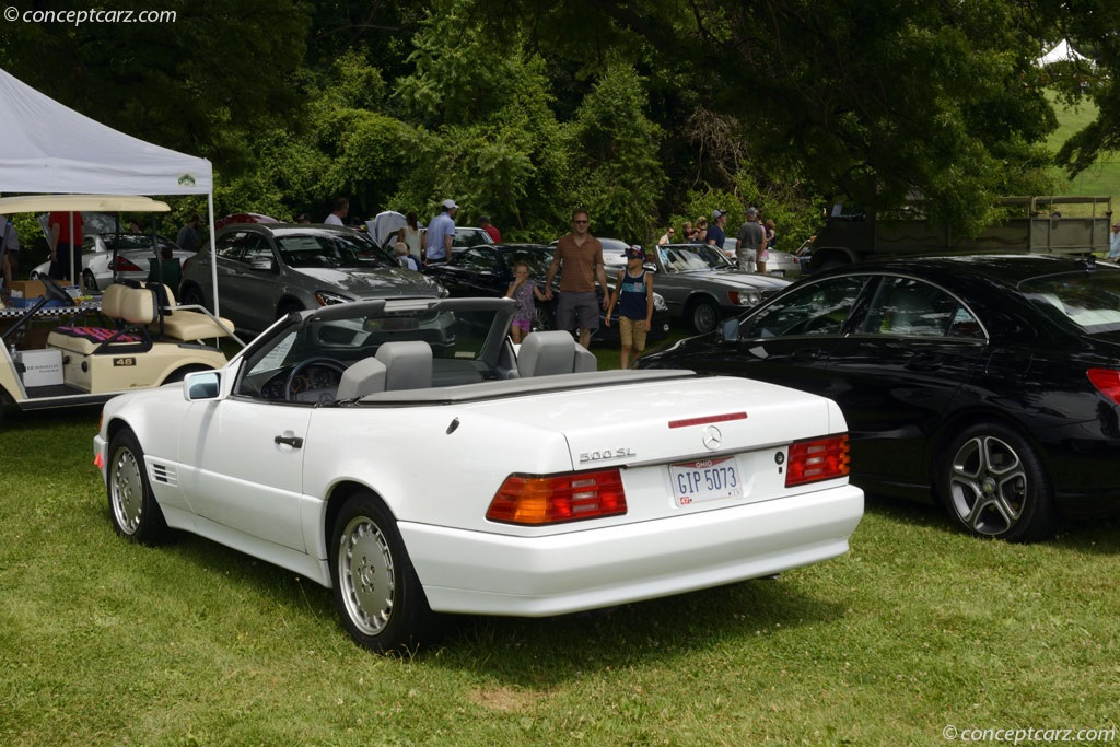 Auction results and sales data for 1992 mercedes benz 500sl for Mercedes benz 500 sl