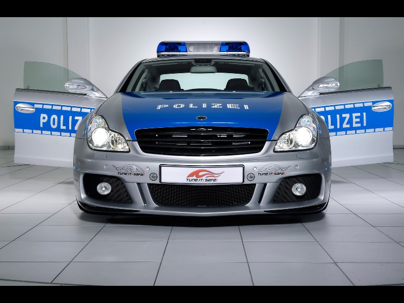 2006 Brabus Rocket Police Car
