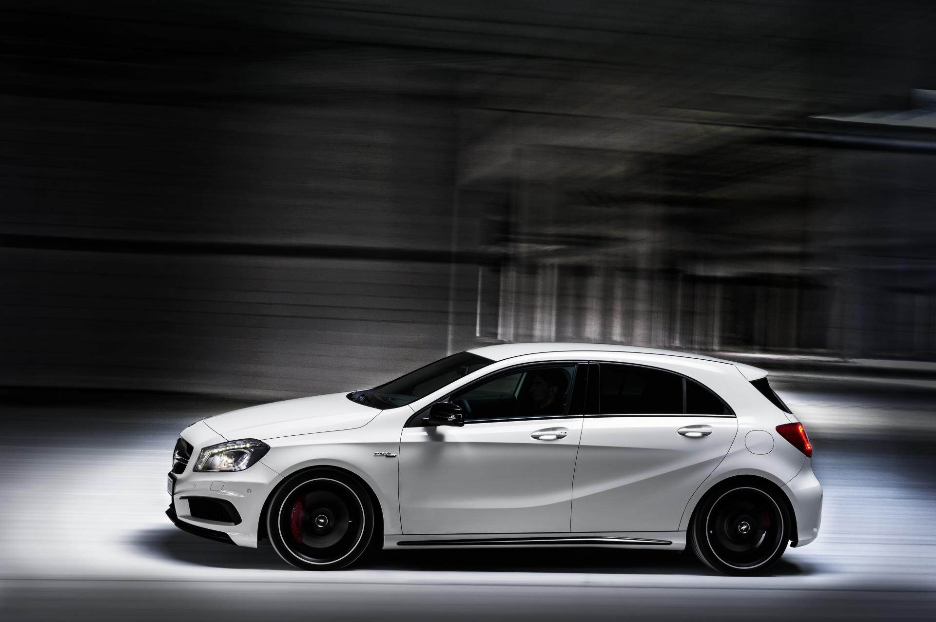 2013 mercedes benz a 45 amg news and information. Black Bedroom Furniture Sets. Home Design Ideas