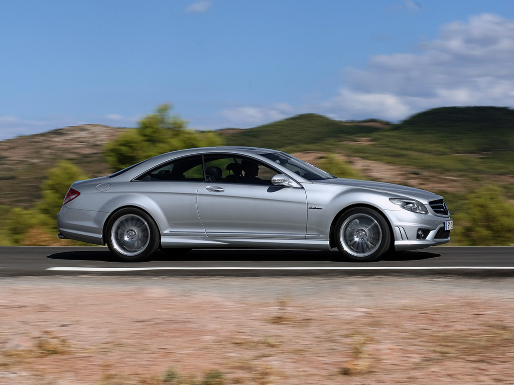 2007 mercedes benz cl 63 amg pictures history value