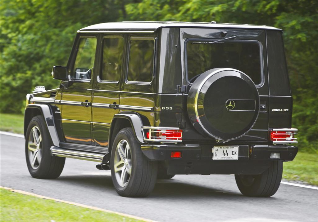 two v8 powered g class models the