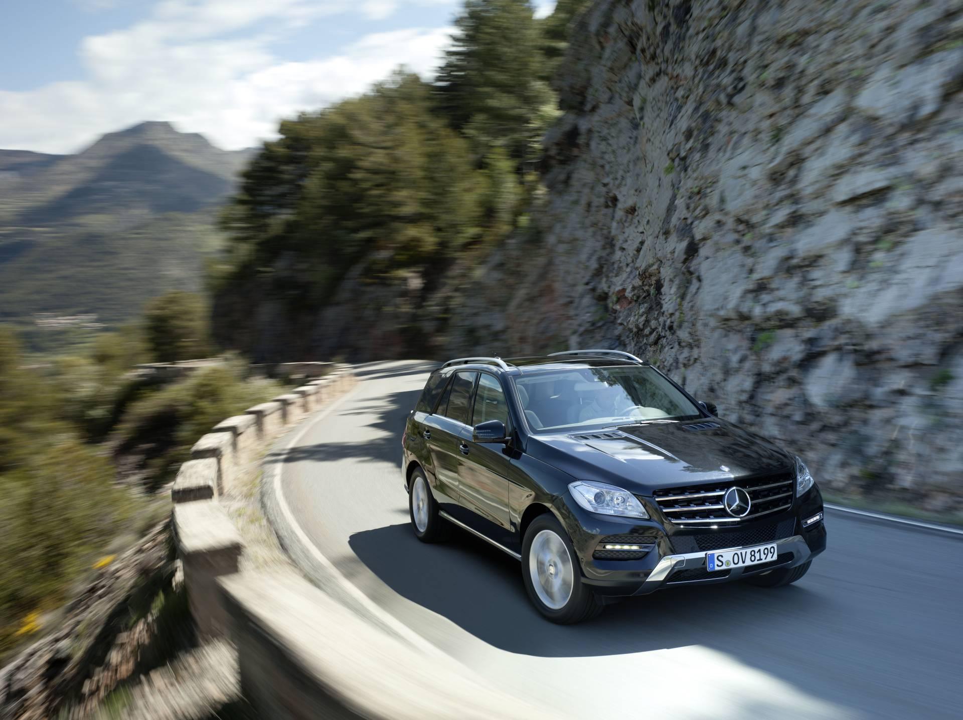Mercedes ML 350 Bluetec без смс