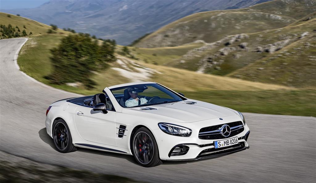 Mercedes Sl Driving Impressions