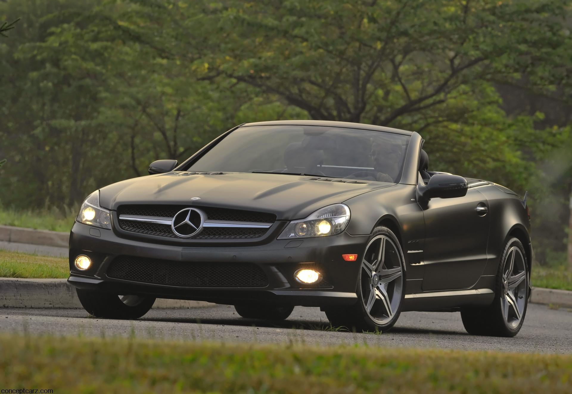 2011 Mercedes-Benz SL550 Night Edition