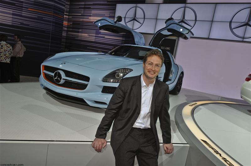 2011 Mercedes-Benz SLS AMG Boudalis Blue